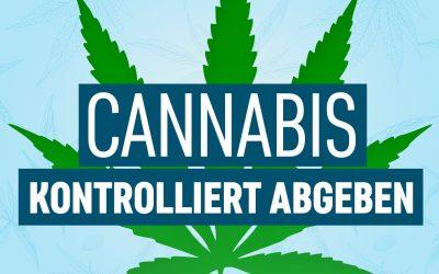 Kontrollierte Abgabe von Cannabis